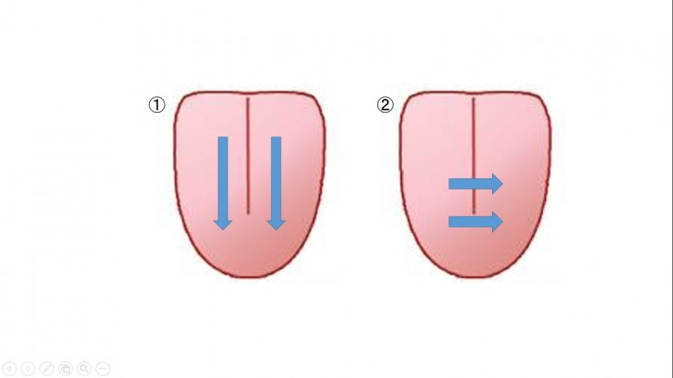 3-1-1舌磨き方